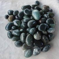 Agate Stone Green Tumbled