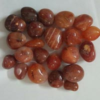 Agate Stone Red Tumbled