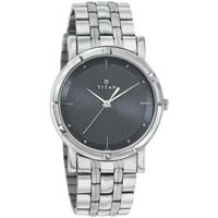 Titan Silver Chain Mens Wrist Watches
