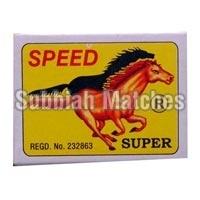 Speed Super Wooden Safety Matchbox