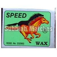 Speed Wax Safety Matches