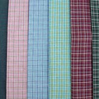 Cotton Yarn Dyed Woven Fabric 01