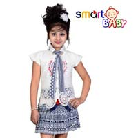 Girls Top And Skirt Set