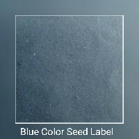 Blue Color Seed Label