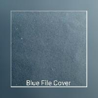 Blue File Cover