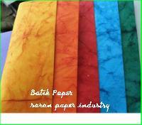 Handmade Batik Paper