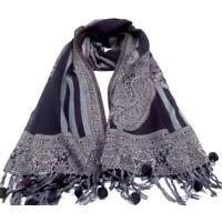 Ladies Woolen Jacquard Scarves