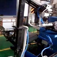 Automatic Loading & Unloading on Centre less Grinder