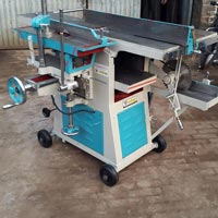 Multipurpose Thickness Planer With Bandsaw
