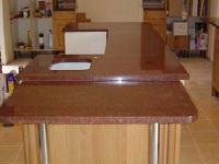 Bruno Red Granite Slab