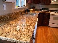 Golden Granite Slab 04