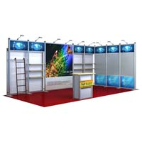 Customized Exhibition Booth (AK-6005)