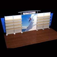 Regular Trade Show Exhibition Booth (AK-6008)