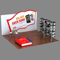 Customized Exhibition Booth (AK-6010)