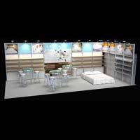 Modular Exhibition Booth (AK-S004)
