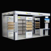 Customized Exhibition Booth (AK-S010)