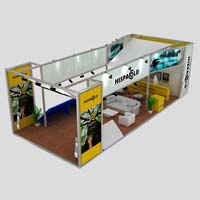 Customized Exhibition Booth (AK-S013)