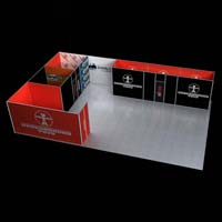 Customized Exhibition Booth (AK-S016)