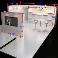 Portable Exhibition Booth (AK-S019)