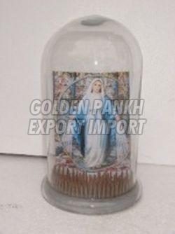 Cloche with Nail Base/Display Stand 01