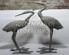 Handmade Bird Statue 01