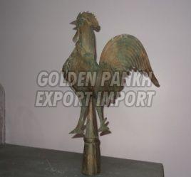 Handmade Cock Statue