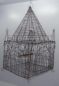 Handmade Wire Bird Cage