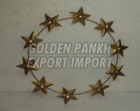 Handmade Star Wreath
