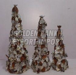Handmade Wooden Tree Statue