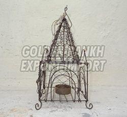 Handmade Wirework Tealight Cage 01