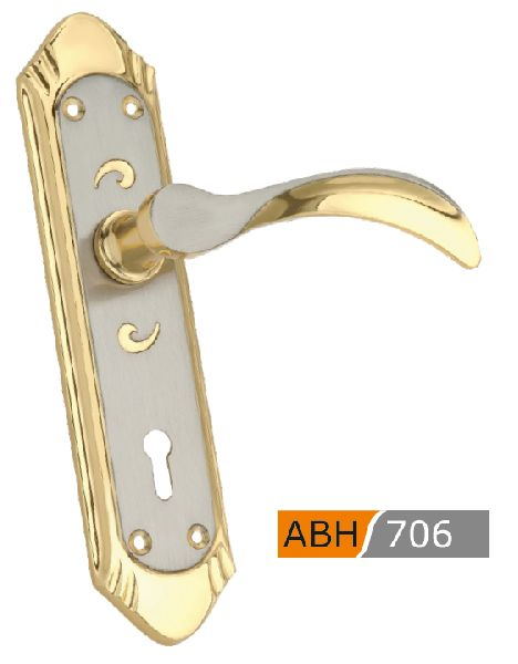 ABH 706 Brass Mortice Door Handle