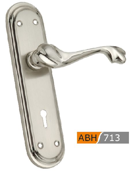 ABH 713 Brass Mortice Door Handle