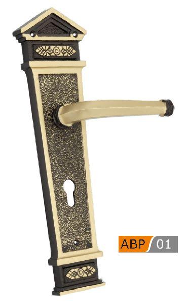 ABP 01 Brass Mortice Door Handle