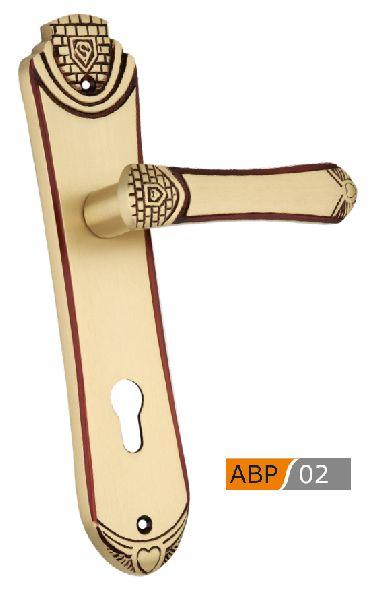 ABP 02 Brass Mortice Door Handle
