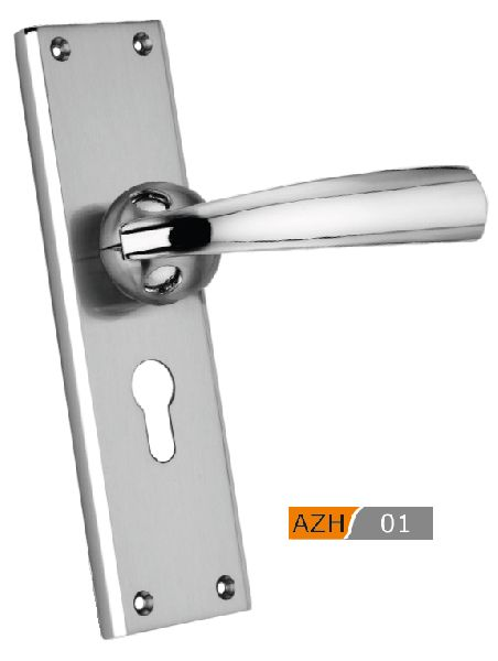 AZH 01 Zinc Mortice Door Handle