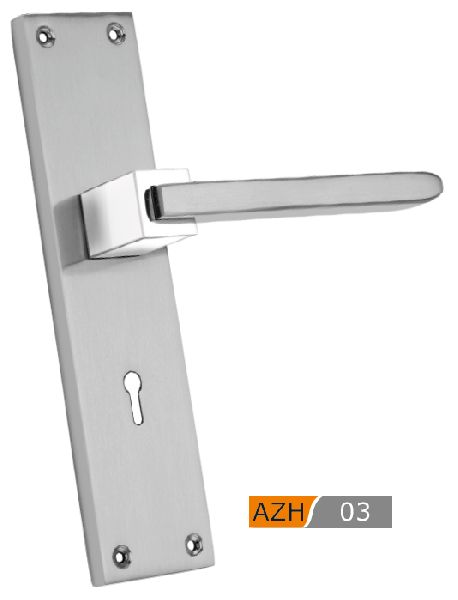 AZH 03 Zinc Mortice Door Handle