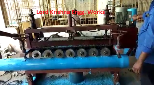 PVC Pipe -Slotting Machine (Semi Auto)