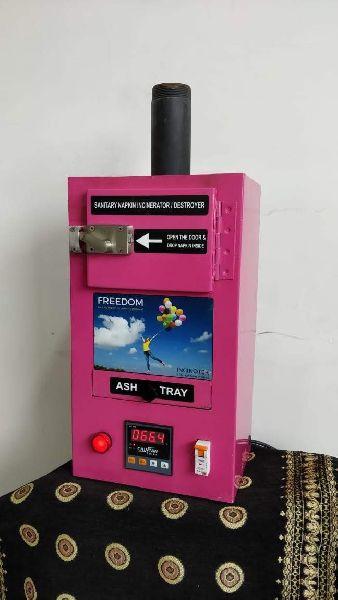 Fully Automatic Sanitary Napkin Incinerator 02