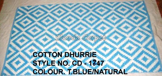 Cotton Dhurries