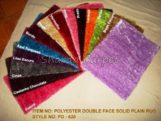 Double Face Polyester Rugs