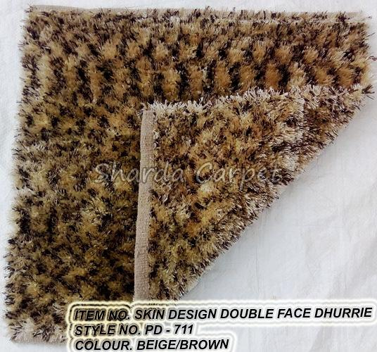 Double Face Skin Dhurries