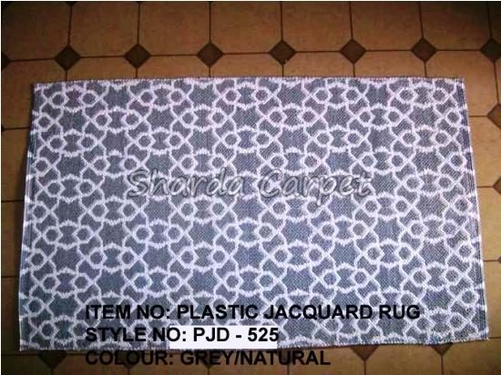 Plastic Jacquard Rugs