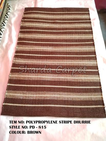 Polyester Striped Dhurries