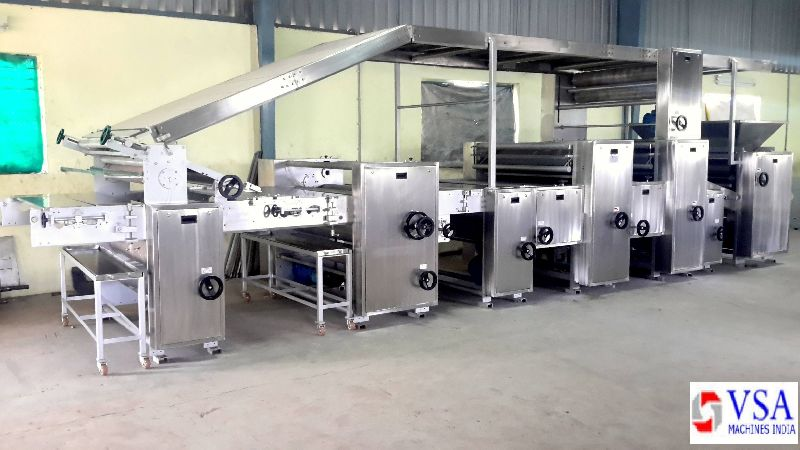 Semi Automatic Biscuit Making Plants 01