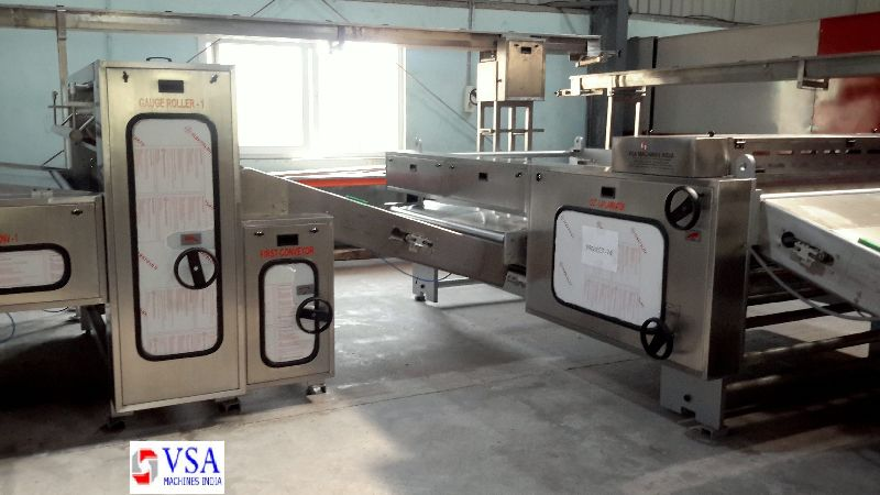 Semi Automatic Biscuit Making Plants 02