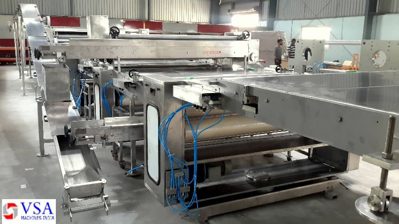 Semi Automatic Biscuit Making Plants 04