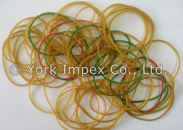 100% Assorted Color Rubber Bands 06