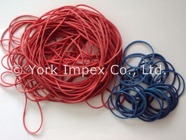 60% Assorted Color Rubber Bands 01