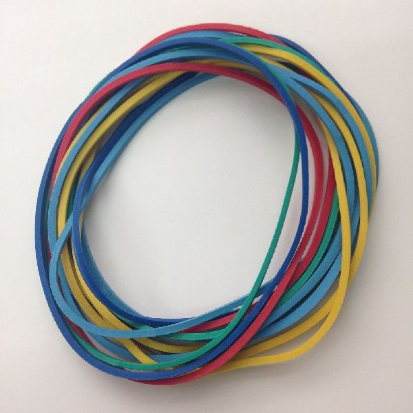 70% Assorted Color Rubber Bands 03
