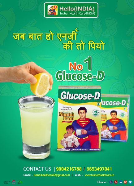 Glucon-D No 1 Nimbu Pani Energy Powder 01